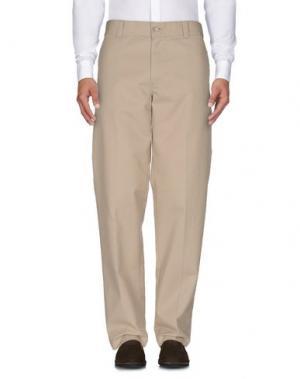 Повседневные брюки DICKIES. Цвет: бежевый