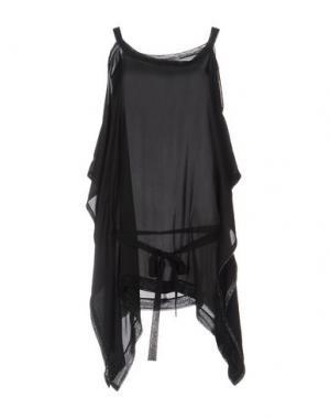 Блузка GENTRYPORTOFINO. Цвет: черный