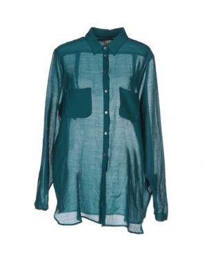 Pубашка ATTIC AND BARN. Цвет: изумрудно-зеленый