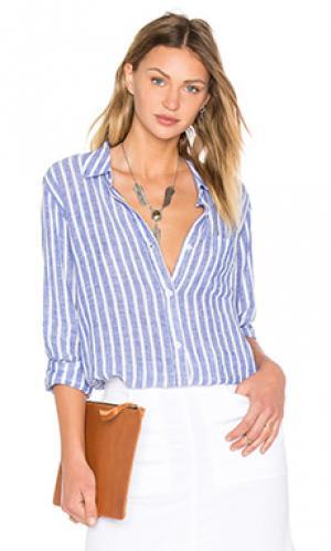 Рубашка charli Rails. Цвет: синий