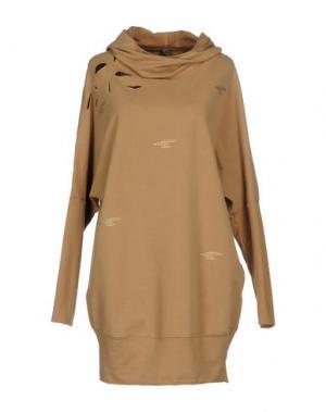 Короткое платье JIJIL. Цвет: хаки