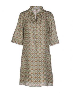 Короткое платье INGRAM. Цвет: светло-зеленый