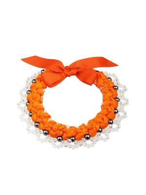 Колье Darinelly. Цвет: оранжевый