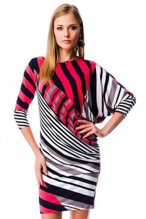 Платье MONDIGO. Цвет: коралловый