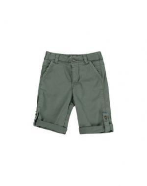 Повседневные брюки AMORE. Цвет: зеленый-милитари