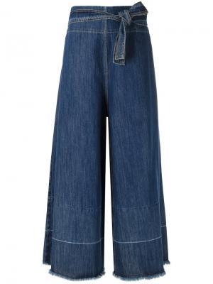Palazzo jeans Uma | Raquel Davidowicz. Цвет: синий