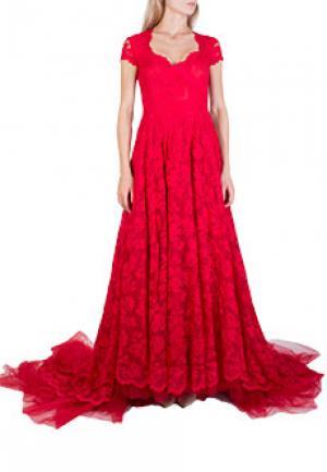 Платье OLVI`S. Цвет: красный
