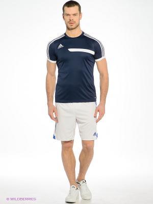 Шорты Adidas. Цвет: белый