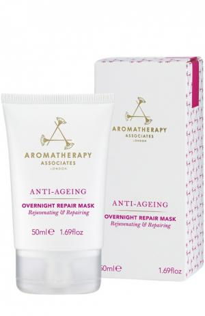 Ночная регенерирующая маска интенсивного действия Anti Ageing Overnight Repair Mask Aromatherapy Associates. Цвет: бесцветный