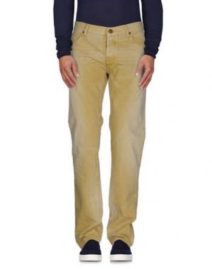 Джинсовые брюки IT'S MET. Цвет: охра