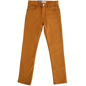 Джинсы узкие детские  Distorscolorsyt Pant Bone Brown Quiksilver. Цвет: коричневый