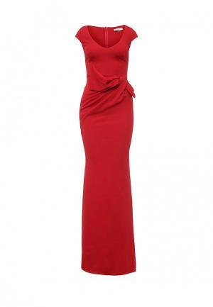 Платье Goddiva. Цвет: красный