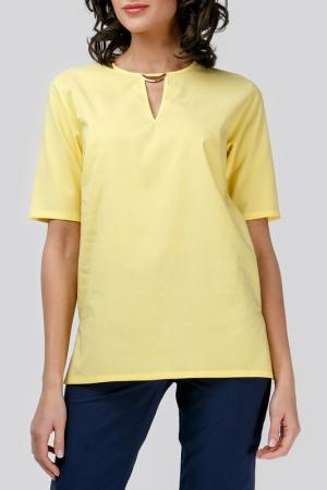 Блуза Adelin Fostayn. Цвет: желтый