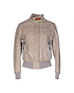 Куртка PIERO GUIDI. Цвет: светло-серый