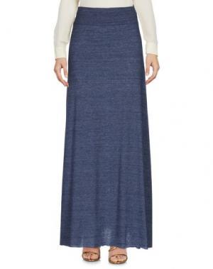 Длинная юбка ALTERNATIVE EARTH. Цвет: грифельно-синий