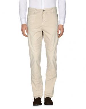Повседневные брюки QUINTESSENCE. Цвет: бежевый