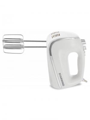 Миксер ручной Starwind SHM5481 450Вт белый/серебристый. Цвет: белый