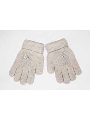 Перчатки Cascatto. Цвет: бежевый, бронзовый