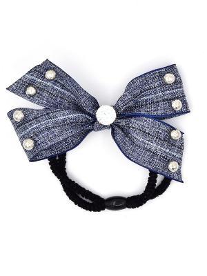Резинка для волос Only Happy. Цвет: серо-голубой, черный