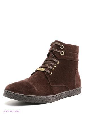 Ботинки Antonio Biaggi. Цвет: темно-коричневый