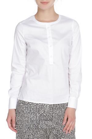 Блузка UNQ. Цвет: белый