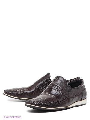 Туфли Dino Ricci. Цвет: коричневый
