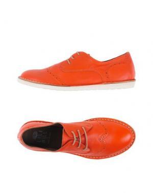 Обувь на шнурках LILIMILL. Цвет: оранжевый