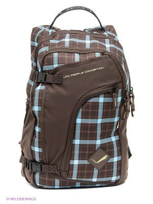 Рюкзак UFO PEOPLE. Цвет: коричневый