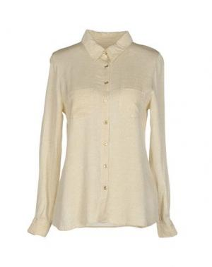 Pубашка MONICA •LENDINEZ. Цвет: бежевый