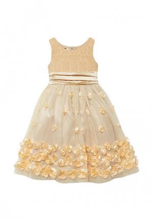 Платье Shened. Цвет: золотой