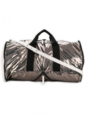 Дорожная сумка Weekender Maison Margiela. Цвет: белый