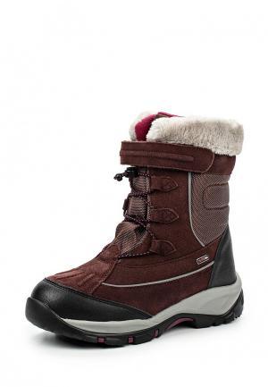 Ботинки Reima. Цвет: коричневый