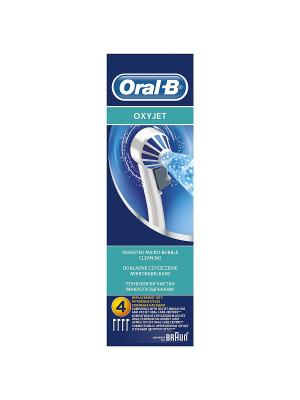 Насадка для ирригатора Oxyjet ED17, 4 шт ORAL_B. Цвет: белый, синий