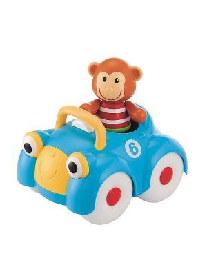 Машинка обезьянки (TB) ELC. Цвет: голубой
