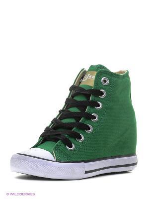Сникеры 4U. Цвет: зеленый