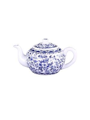 Чайник с металлическим фильтром 1 л. PATRICIA. Цвет: светло-голубой