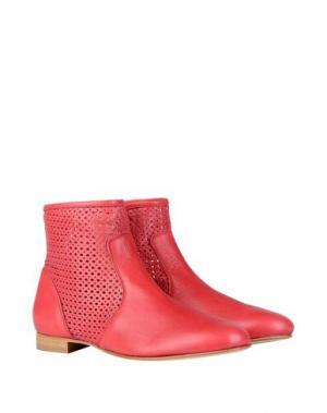 Полусапоги и высокие ботинки GEORGE J. LOVE. Цвет: коралловый
