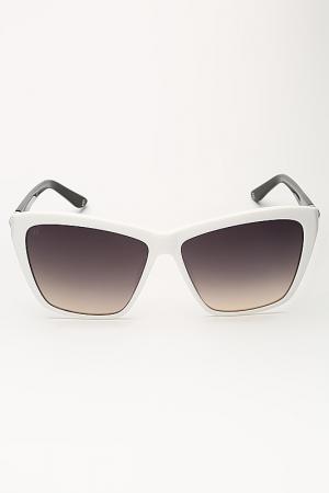 Очки солнцезащитные Laura Biagiotti. Цвет: белый