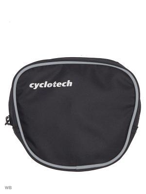 Сумка Cyclotech. Цвет: черный