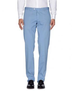 Повседневные брюки GERMANO. Цвет: небесно-голубой