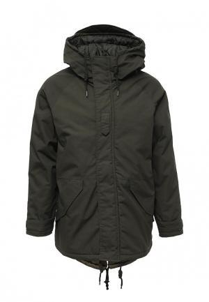Куртка утепленная Top Secret. Цвет: хаки