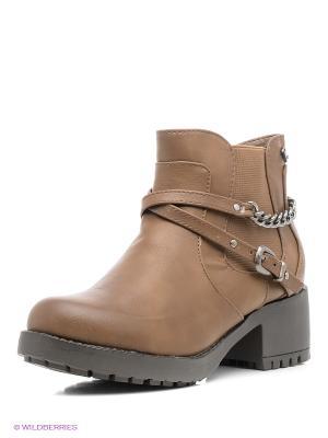 Ботинки Refresh. Цвет: темно-серый