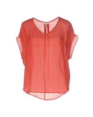 Блузка JOIE. Цвет: красный