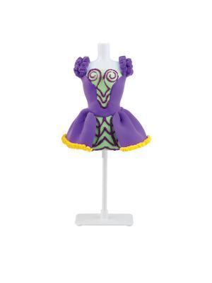 Набор для творчества с пластилином Fashion Dough и манекеном Фиолетовый Toy Target. Цвет: фиолетовый