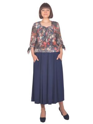 Блузка Томилочка Мода ТМ. Цвет: серый