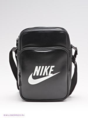 Сумка HERITAGE SI SMALL ITEMS II Nike. Цвет: черный, белый