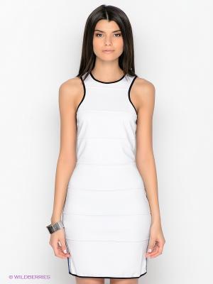 Платье  MOORE MET. Цвет: белый