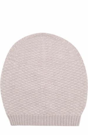 Кашемировая шапка TSUM Collection. Цвет: темно-бежевый