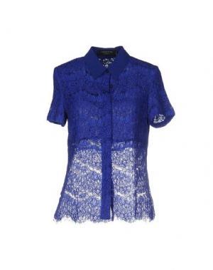 Pубашка ANGEL EYE. Цвет: темно-синий