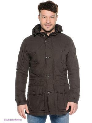 Куртка S.OLIVER. Цвет: коричневый